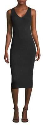MICHAEL Michael Kors Rib-Knit Sweater Dress