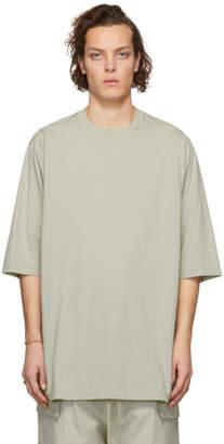Rick Owens Grey Crewneck T-Shirt