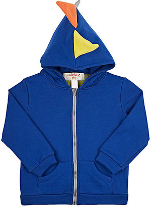 Siaomimi Dinosaur Cotton French Terry Hoodie-BLUE $68 thestylecure.com