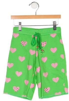 Flowers by Zoe Girls' Printed Knee-Length Shorts