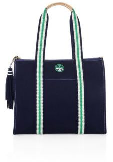 Tory Burch Tory Burch Embroidered-T Tote
