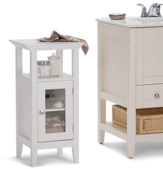 Simpli Home Acadian Floor Storage Cabinet