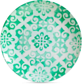 Laurie Gates Closeout! Aqua Geo Dinner Plate, First at Macy's