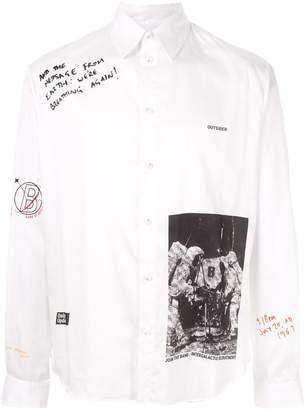 Band Of Outsiders Man On The Moon shirt