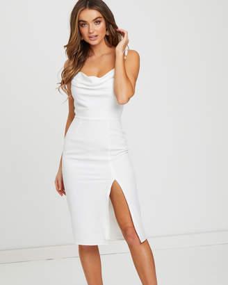 Sallie Cowl Neck Dress
