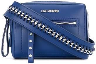 Love Moschino small chain strap crossbody bag
