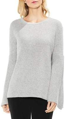 Vince Camuto Ribbed Bell-Sleeve Sweater