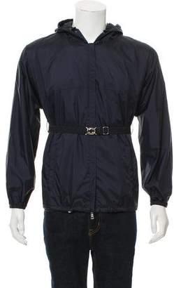 Prada Sport Hooded Windbreaker Jacket