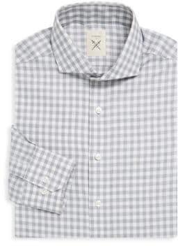 Espirit Tailored-Fit Gingham Dress Shirt