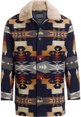 Pendleton Brownsville Shearling Collar Coat - Men's