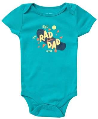 Joe Fresh Short Sleeve Bodysuit (Baby Boys)