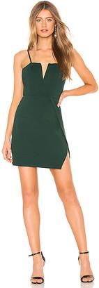 Josie About Us Wrap Mini Dress