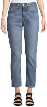 Levi's Premium 501 High-Rise Ankle Skinny Jeans