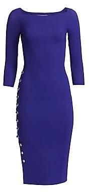 Chiara Boni Women's Lace-Up Detail Sheath Dress