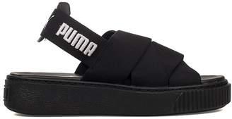 Puma Black Platform Sandal