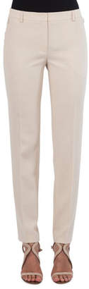 Akris Melvin Straight-Leg Wool Pants