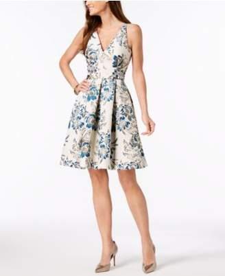 Xscape Evenings Brocade Fit & Flare Dress