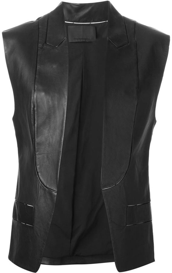Alexander Wang sleeveless blazer
