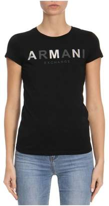 Armani Collezioni (アルマーニ コレッツォーニ) - T-shirt T-shirt Women Armani Exchange