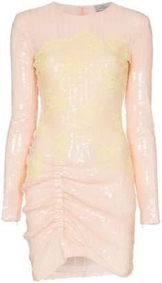 Preen by Thornton Bregazzi Michelle sequinned lace mini dress