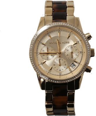 Michael Kors Watch Ritz Acetate Chrono Watch