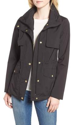 Cole Haan Gunflap Packable Rain Jacket