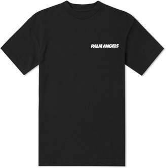 Palm Angels Skull On Fire Tee