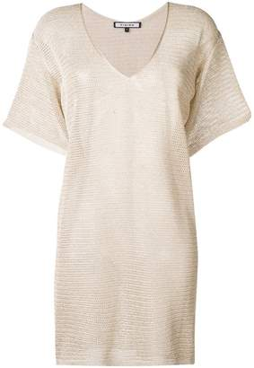 Fisico knitted shift dress