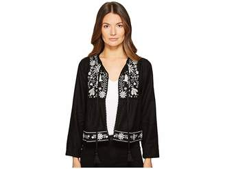 Kate Spade Embroidered Jacket Women's Coat