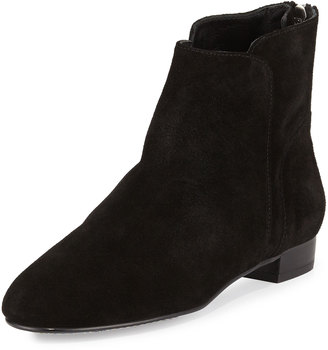 Delman Myth Suede Ankle Boot $159 thestylecure.com