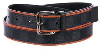 Louis Vuitton Damier Graphite Ace Belt