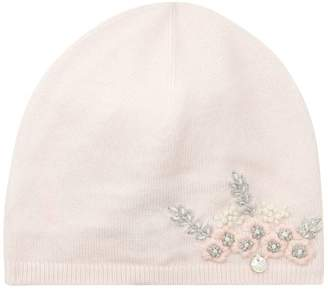 Tartine et Chocolat Floral Embroidered Hat