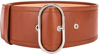 Acne Studios Large Belt in Cognac Brown | FWRD