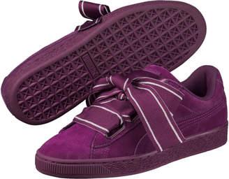 Suede Heart Satin II Women's Sneakers