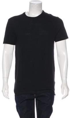 AllSaints Solid Woven T-Shirt