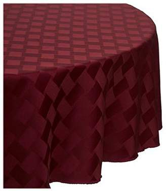 Bardwil Reflections Spill Proof Oval Tablecloth