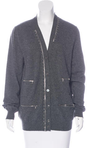 Marc JacobsMarc Jacobs Hardware-Accented Knit Cardigan