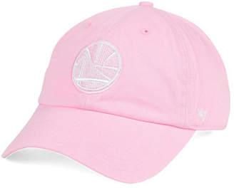 '47 Brand Women's Golden State Warriors Petal Pink CLEAN UP Cap $27.99 thestylecure.com