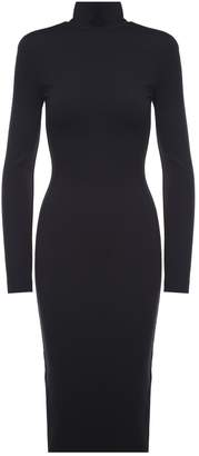 DSQUARED2 High-neck Stretch-jersey Dress