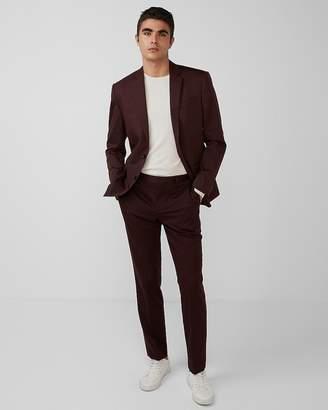 Express Classic Cotton Sateen Suit Jacket