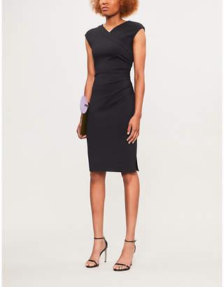 Diane von Furstenberg Cap-sleeve stretch-jersey dress
