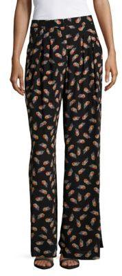 Carolina HerreraWide-Leg Printed Pajamas