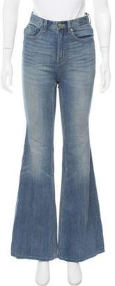 Marc by Marc Jacobs High-Rise Flared Jeans