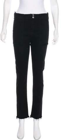 Rag & Bone High-Rise Straight-Leg Jeans w/ Tags
