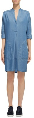 Whistles Lulu Chambray Shirt Dress $210 thestylecure.com