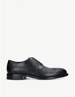Tod's Tods Bucatura leather derby shoes