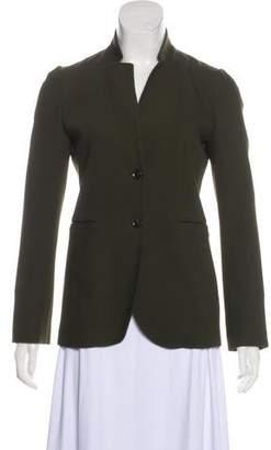 Gucci Wool Stand Collar Blazer