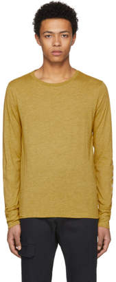 Burberry Yellow Marchston Burnout T-Shirt