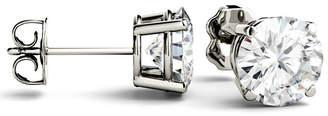 Charles & Colvard Moissanite Stud Earrings (3 ct. t.w. Diamond Equivalent) in 14k White or Yellow Gold