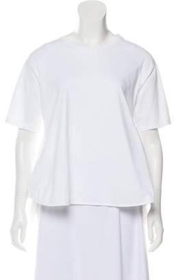 Simone Rocha Draped Short Sleeve Top